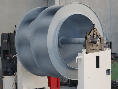 Balancing large impeller fans