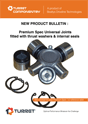 Thrust Washer Universal Joints Bulletin