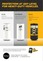 WIX Heavy duty filter versions